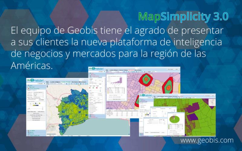 Lo Nuevo en MapSimplicity 3.0