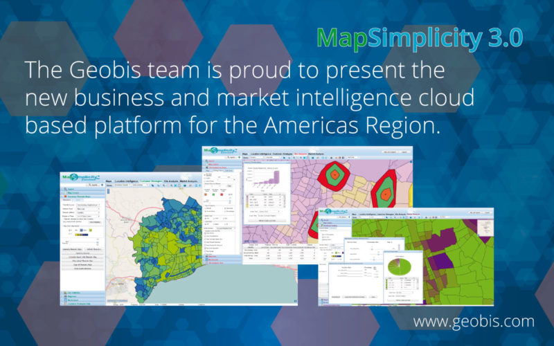 New at Geobis MapSimplicity 3.0