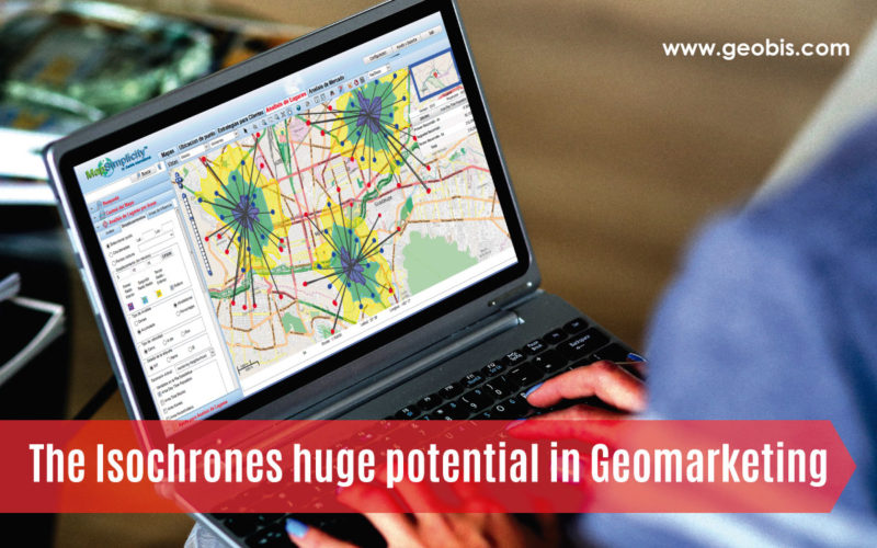 The Isochrones huge potential in Geomarketing